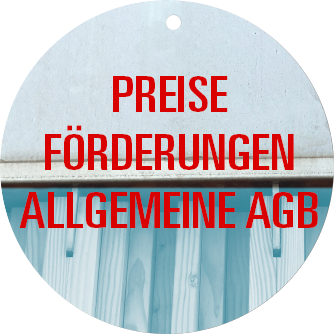Preise - Förderung - Allgemeine AGB