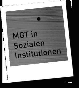 MGT in Sozialen Institutionen